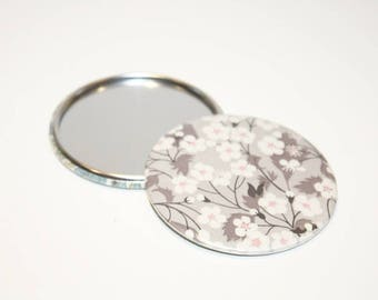 75 mm Liberty Mitsi gray Pocket mirror