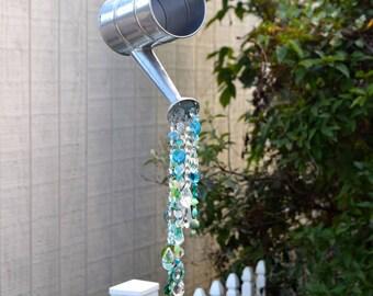 Custom Watering can design, custom yard art, garden decoration
