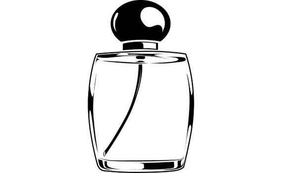 perfume bottle 1 female woman spray scent cologne smell knitting clip art+funny knitting clip art free line