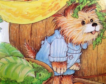 Puppy Lost Story and Pictures by Cyndy Szekeres A Golden Book 1986 A edition