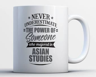 Never Underestimate The Power Of Someone Who Majored In Asian Studies Student Gift