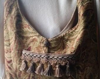 Gypsy fabric shoulder bag