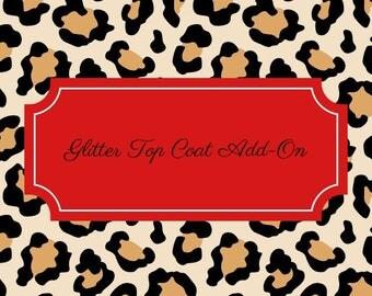 Add on- Glitter Top Coat