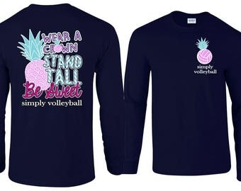 Pineapple - Volleyball Long Sleeve T-shirt
