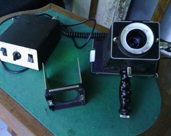 c. 1964 Polaroid CU-5 Land Camera - WORKS!
