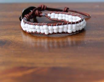 White Elephant Wrap bracelet