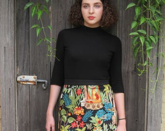 The Frida Kahlo Skirt - Short Version