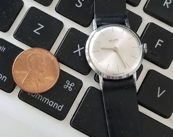 Vintage wolsgen lady's wrist watch mechanical hand wined movement swiss made works