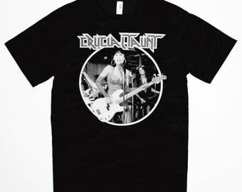 Crucial Taunt T-Shirt - Wayne's World Tia Carrere 1990s Cult Classic Waynestock Mike Myers Movie Tee Shirt - T-Shirt Mens Ladies Womens