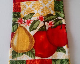 Hanging Fruit Towel with Pothoolder