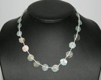 Ancient Roman glass, vintage beads, strand nature,