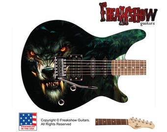 WOLF Electric Guitar - Free US Shipping - Freakshow Guitars