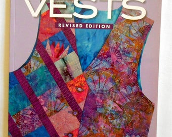 Easy Reversible Vests Carol Doak/Strips/Squares/Paper Pieced includes vest patterns- Book-That Patchwork Place/Martingale and Company(#1914)