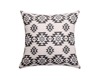 Aztec decorative pillow covers Navajo throw pillow covers Geometric pillow case Tribal cushion cover Sofa accent pillows Home decor 18x18