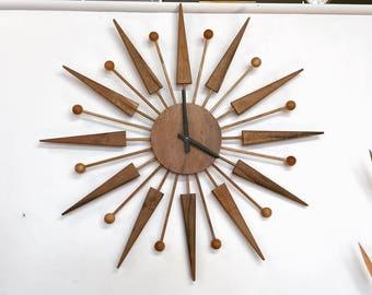 Starburst Clock