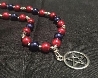 Pagan Prayer Beads - Maat Prayer Beads