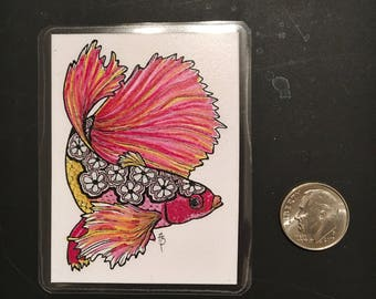 Betta Fish Magnet