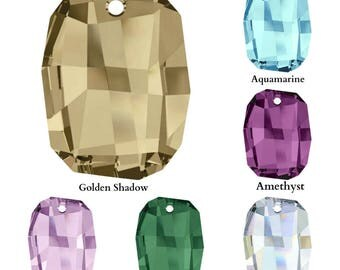 Swarovski Crystal 6685 Graphic Pendant 28mm All Colours