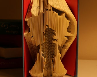 Ed and Alphonse from FULLMETAL ALCHEMIST || Folded Book Art