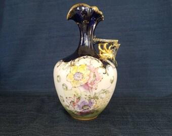 RStK Amphora Vintage Art Noveau Turn Teplitz Pitcher