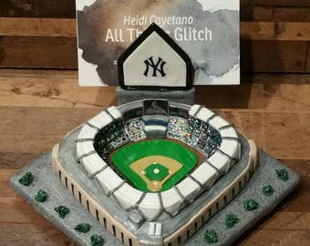 YANKEE STADIUM Business card holder