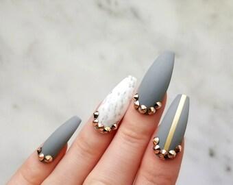 Gloss Pink Nails With Rose Gold Swarovski Crystals Amp Bow Any