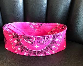 Rhinestone bandana pink