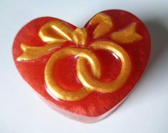 30 Wedding Ring Soaps| Wedding Favors| Wedding Soaps| Heart Soaps