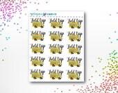 Field Trip | School Planner Stickers | ECLP | Happy Planner | Recollections