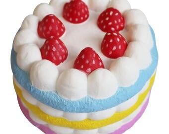 Slow Rising Squishy Jumbo Strawberry Cake
