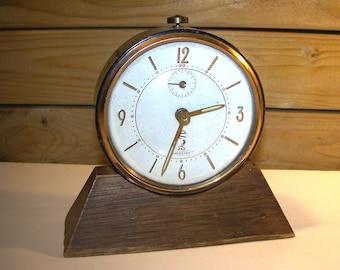 Alarm clock Jaz crescendo made in France the 50's - Alarm clock Jaz crescendo made in France 50's