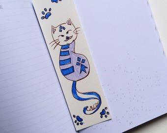 "Marque-pages ""BlueCat"""