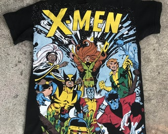 X-Man Comic Vintage Group T-Shirt
