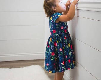 Sommer Dress// Michael Miller Fabric// FREE Shipping