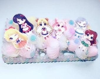 Ready to ship! Nintendo 3DS case decoding anime manga Sailor Moon