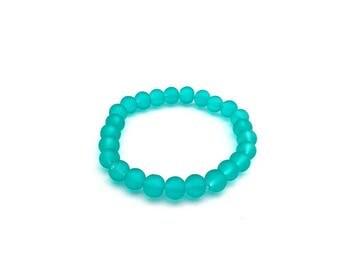 Mens turquoise bracelet
