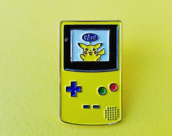 Pikachu Game Boy from Lovetappins