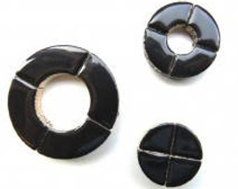 Bullseye Circle Parts - Black - 50g / 1.75 oz