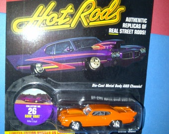 Hot Rods Street Rods 1970 GTO Goin Goat by Johnny Lightning new on card