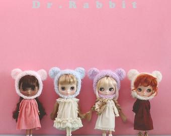 Blythe hat - Pastel Bear series