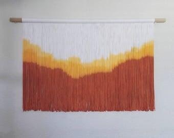 VERANO | dip dye wall hanging