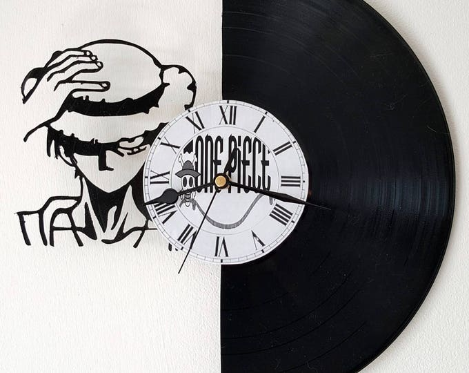 Vinyl 33 clock towers theme One piece