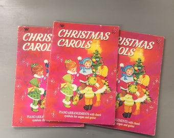 Christmas Carol Music Books By Whitman Publishing
