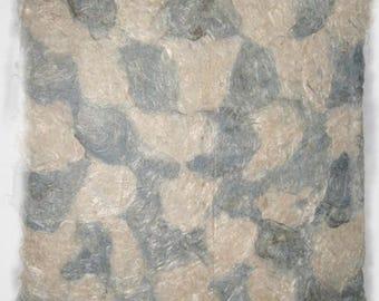 Checkerboard. Linen paper.