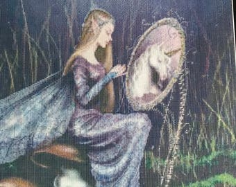 Mystic Stitch Counted Cross Stitch MG-47 pattern, fairy cross stitch