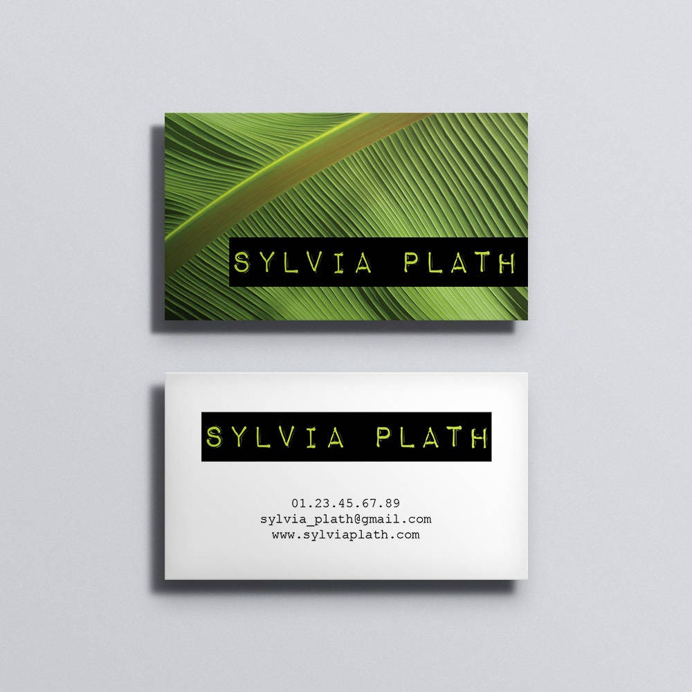 Printable Business Card Template Printable Business Card Design - Custom business card template