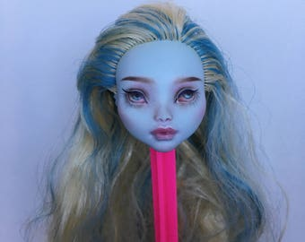 OOAK Monster High Doll Heads - Repaint