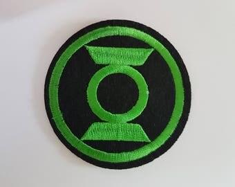 The Green Lantern Superhero Movie Logo Iron on Sew on Patch