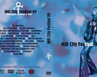 Prince Mill City Festival DVD 1999