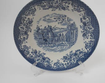 Johnsons Bros Coaching Scenes Saucer – Hunting Country – Ironstone – Price Per Saucer